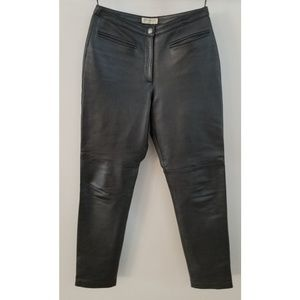 Hugo Buscati 100% Leather Pants Size 6  Leggings